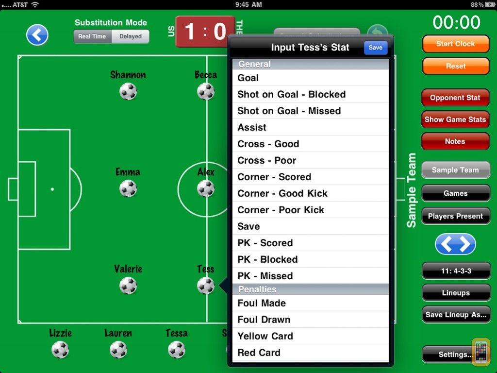 Screenshot - Coach it Soccer