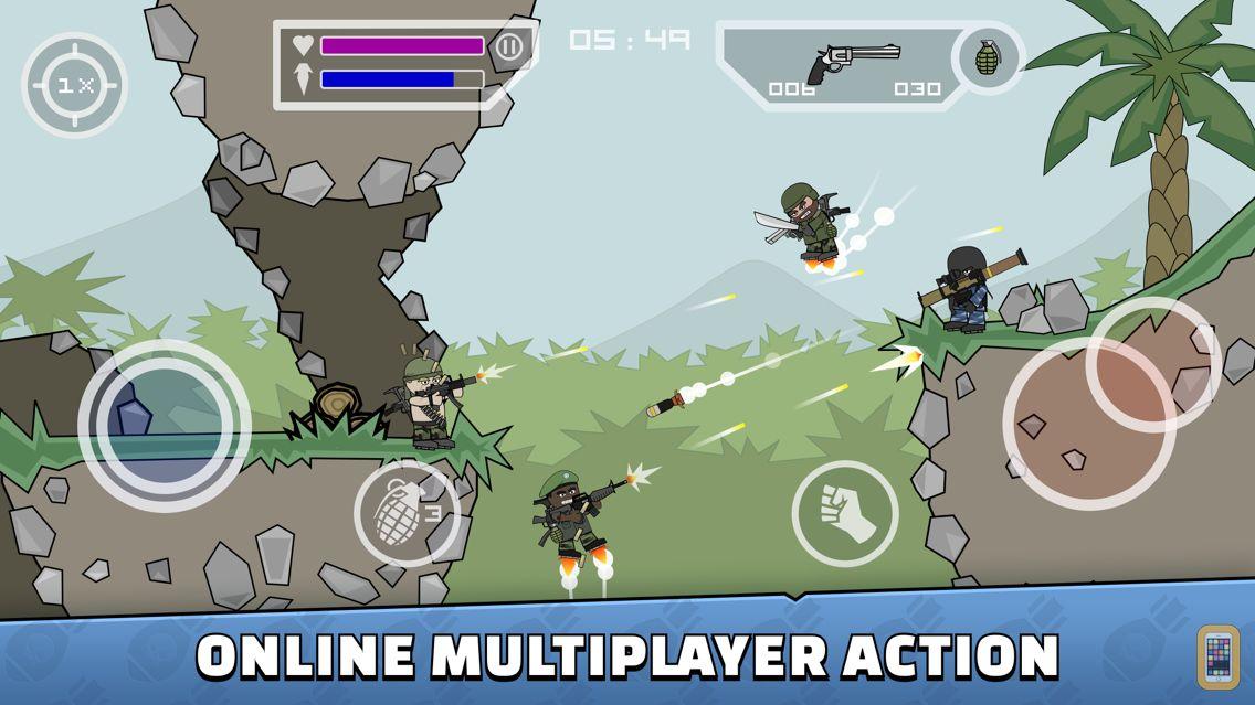 Screenshot - Doodle Army 2 : Mini Militia