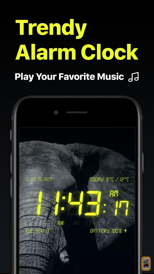 Screenshot - Alarm Clock - My Music Alarms