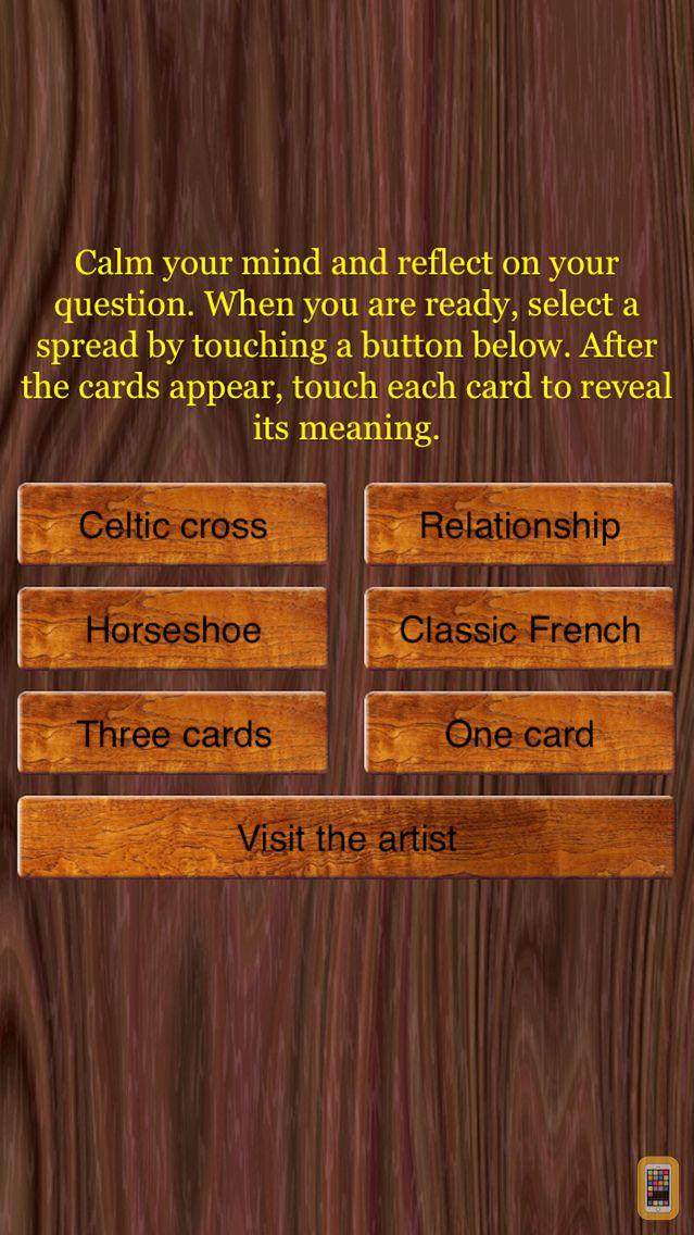 Screenshot - Old tarot restored by Flornoy