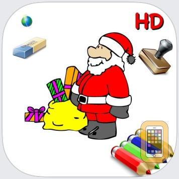 Coloriages de Noël by SCM-CONSULTING (iPad)