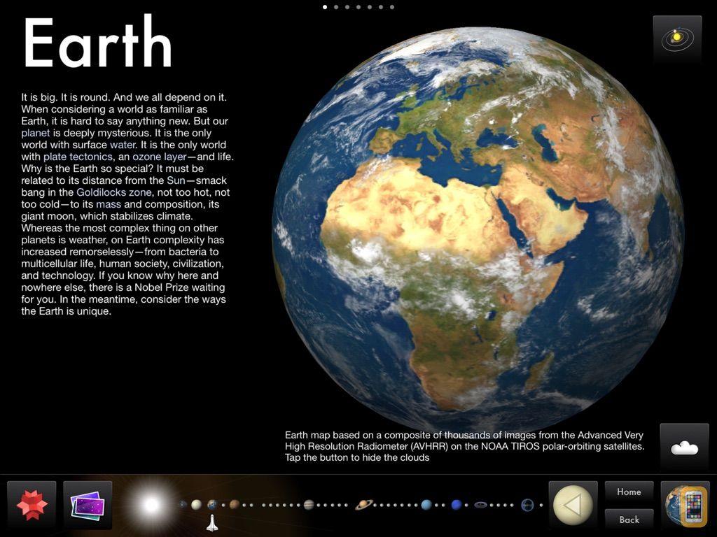 Screenshot - Solar System for iPad