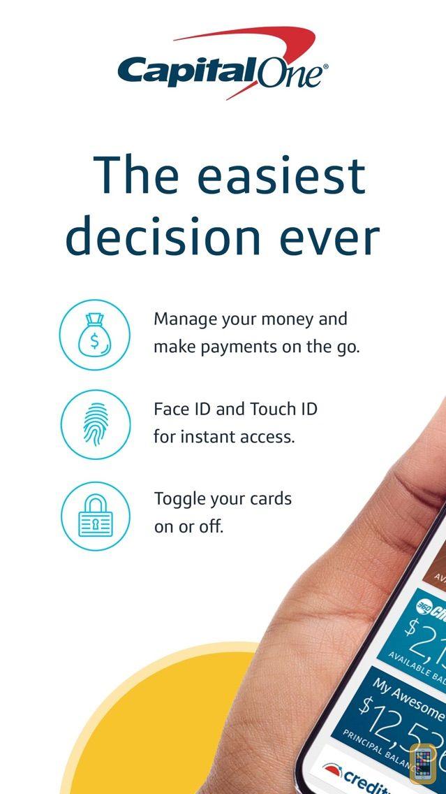 Screenshot - Capital One Mobile
