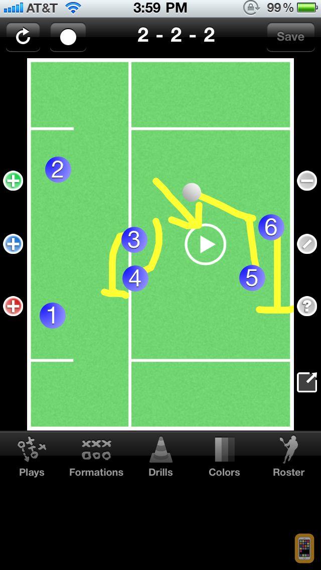 Screenshot - Lacrosse Coach Pro