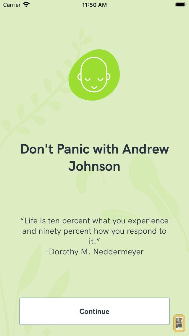 Screenshot - Don't Panic with Andrew Johnson