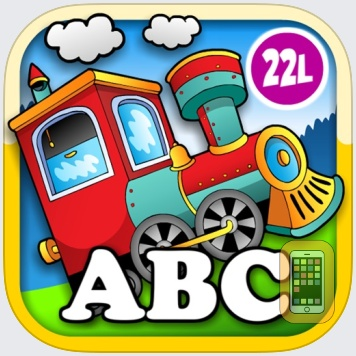 Animal Train Preschool Adventure First Word Learning Games for Toddler Loves Farm and Zoo Animals by Monkey Abby® by CFC s.r.o. (Universal)