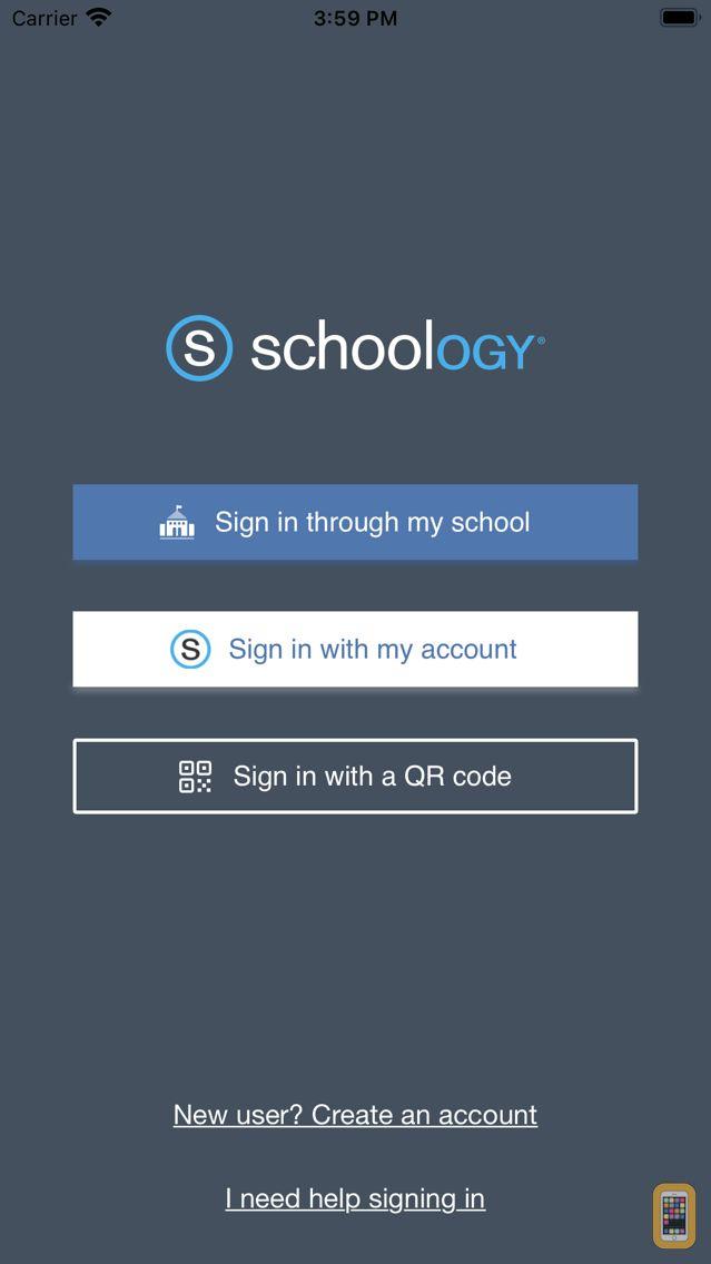 Screenshot - Schoology