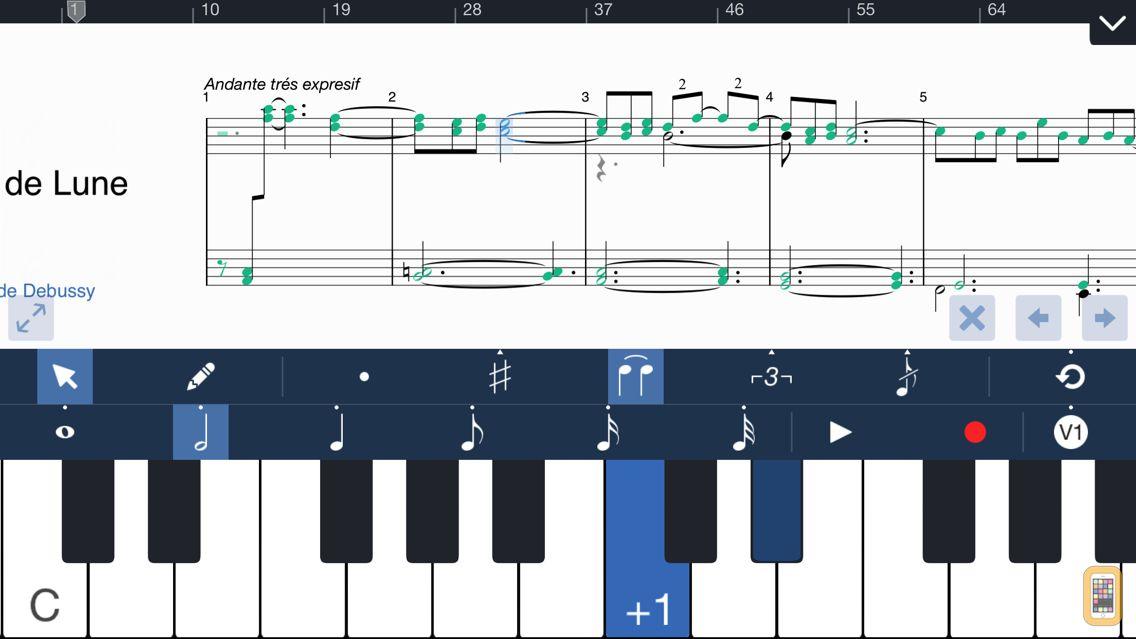 Screenshot - Symphony Pro - Music Notation