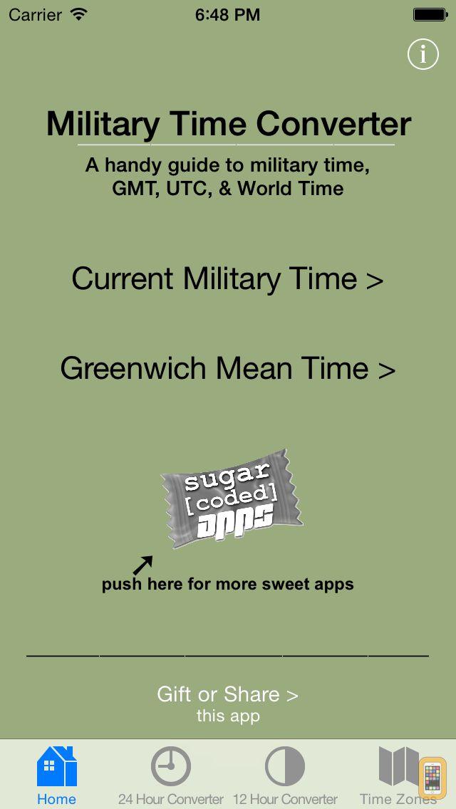 Screenshot - Military Time Converter