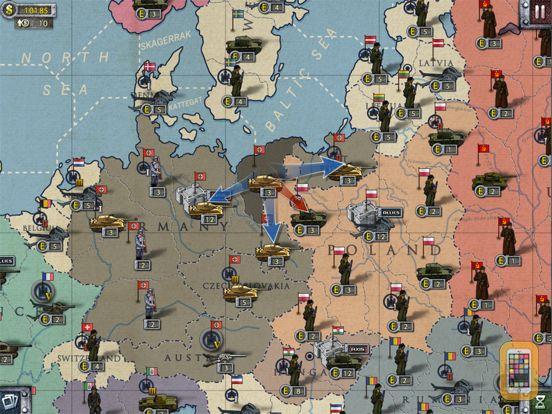 Screenshot - European War 2 for iPad