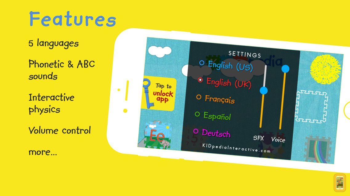 Screenshot - KIDpedia Interactive Alphabet (English, Spanish & French)