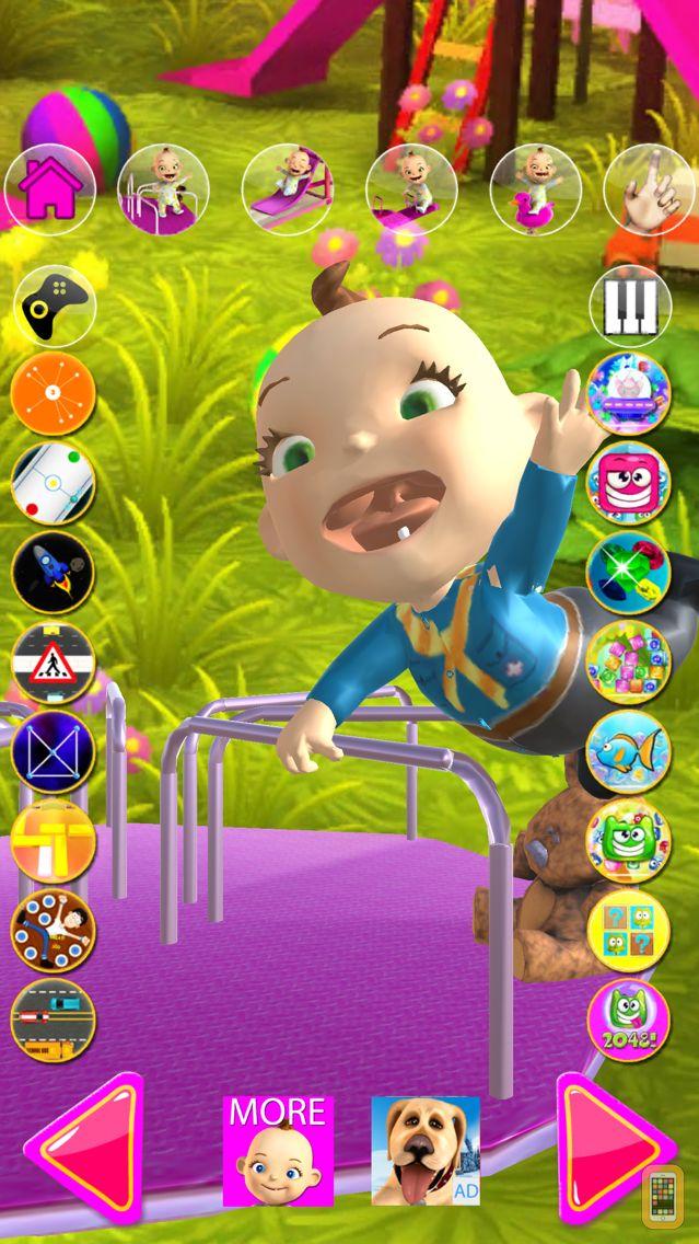 Screenshot - Talking Babsy Baby