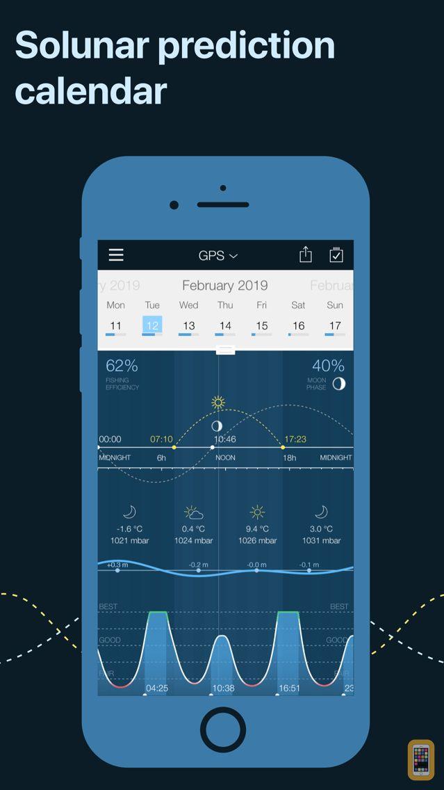 Screenshot - Fishing Calendar, Solunar