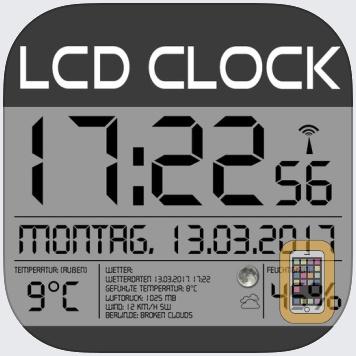LCD Wallclock+Weather by Pocketkai (iPad)