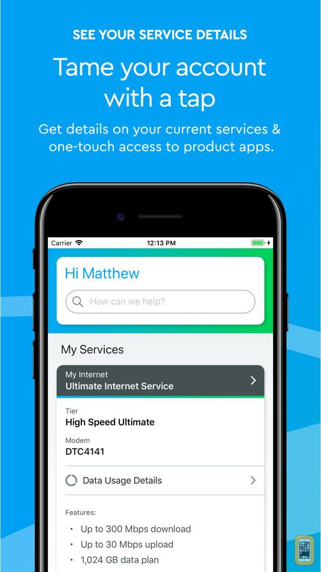 Screenshot - Cox App
