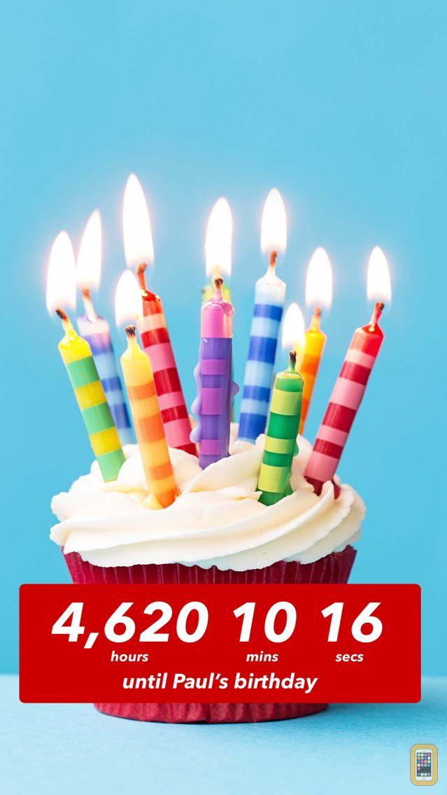 Screenshot - Birthday Countdown ‼