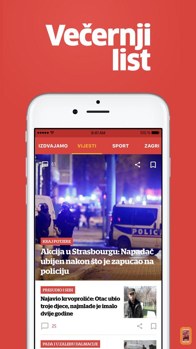 Screenshot - Večernji list