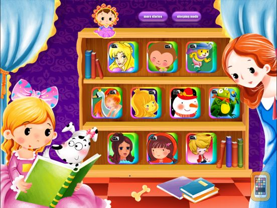 Screenshot - 10 Classic Fairy Tales - Interactive Books iBigToy