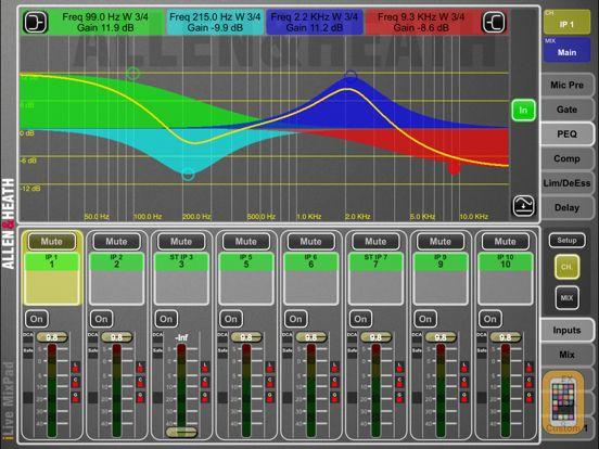 Screenshot - iLive MixPad