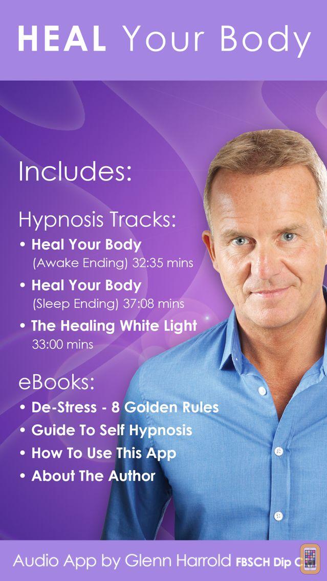 Screenshot - Heal Your Body by Glenn Harrold: Hypnotherapy for Health & Self-Healing