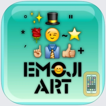 emoji 2 emoticon art free - premade MMS/SMS messages by John Murray (iPhone)