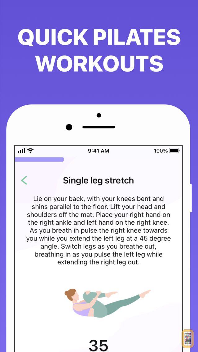 Screenshot - 5 Minute Pilates Workouts