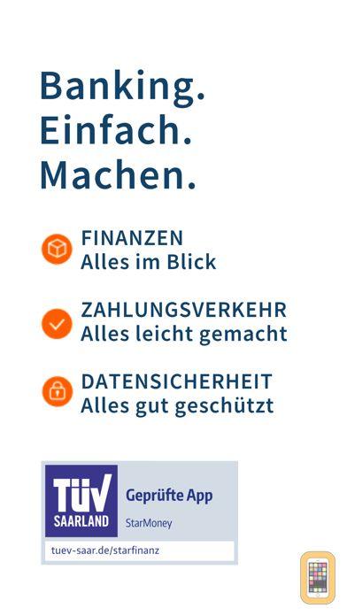 Screenshot - StarMoney - Sicheres Banking bei Banken und Sparkassen