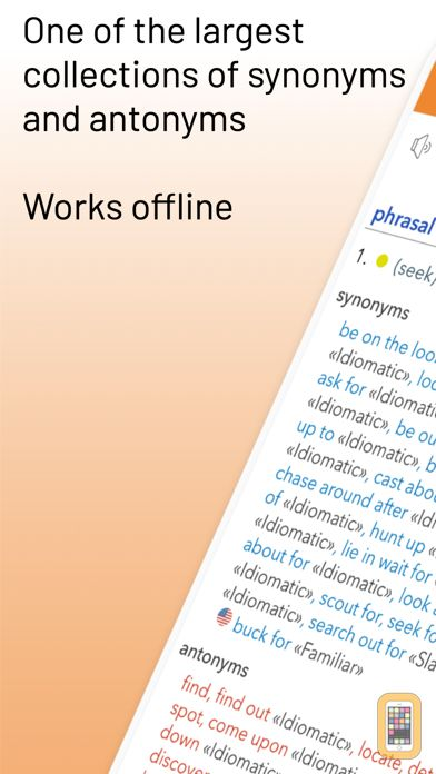 Screenshot - English Thesaurus