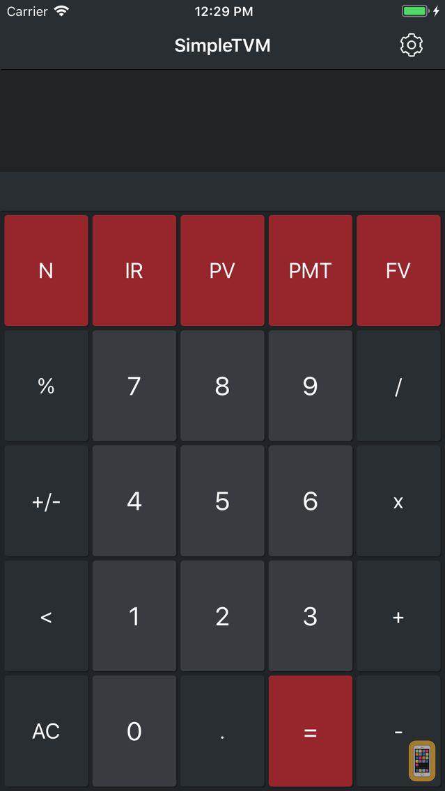 Screenshot - Simple TVM