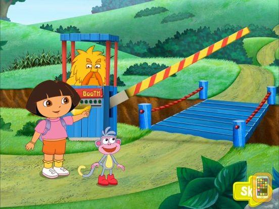 Screenshot - Dora ABCs Vol 2:  Rhyming HD
