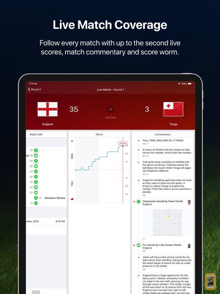 Screenshot - Union Live for iPad