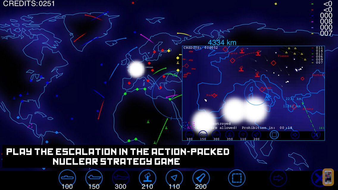 Screenshot - Radzone : the Nuclear Wargame