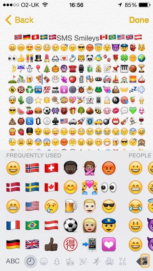 Screenshot - SMS Smileys