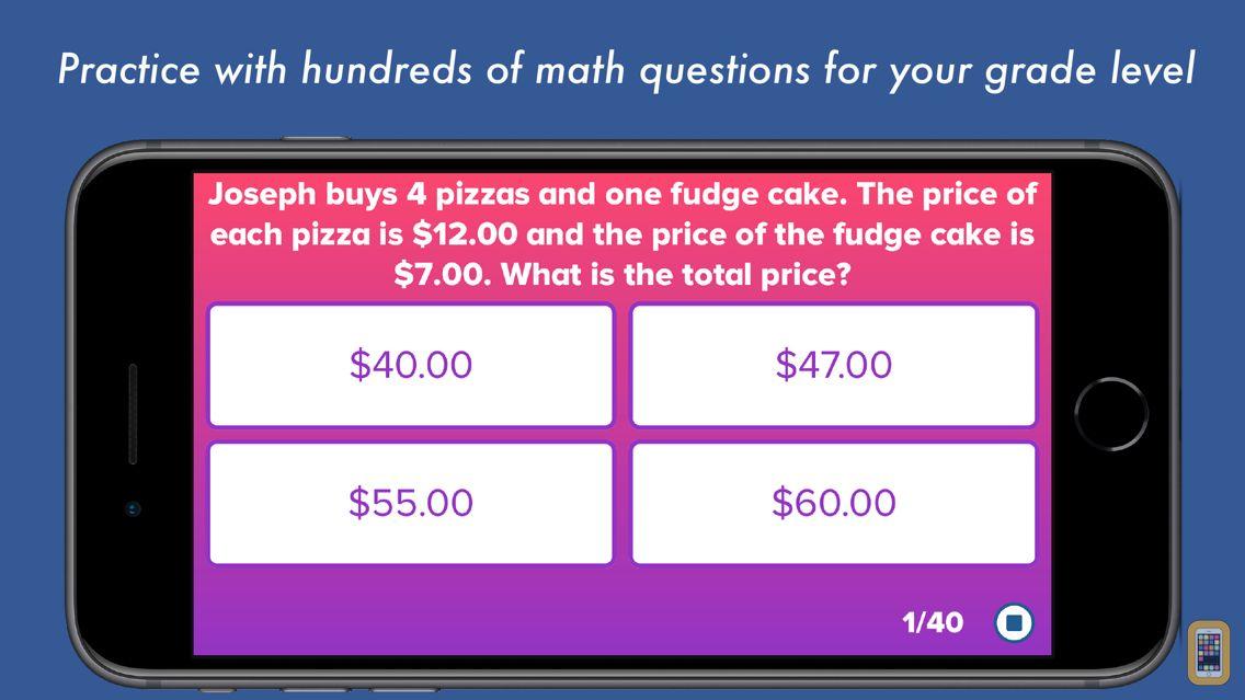 Screenshot - 5th Grade Math Testing Prep