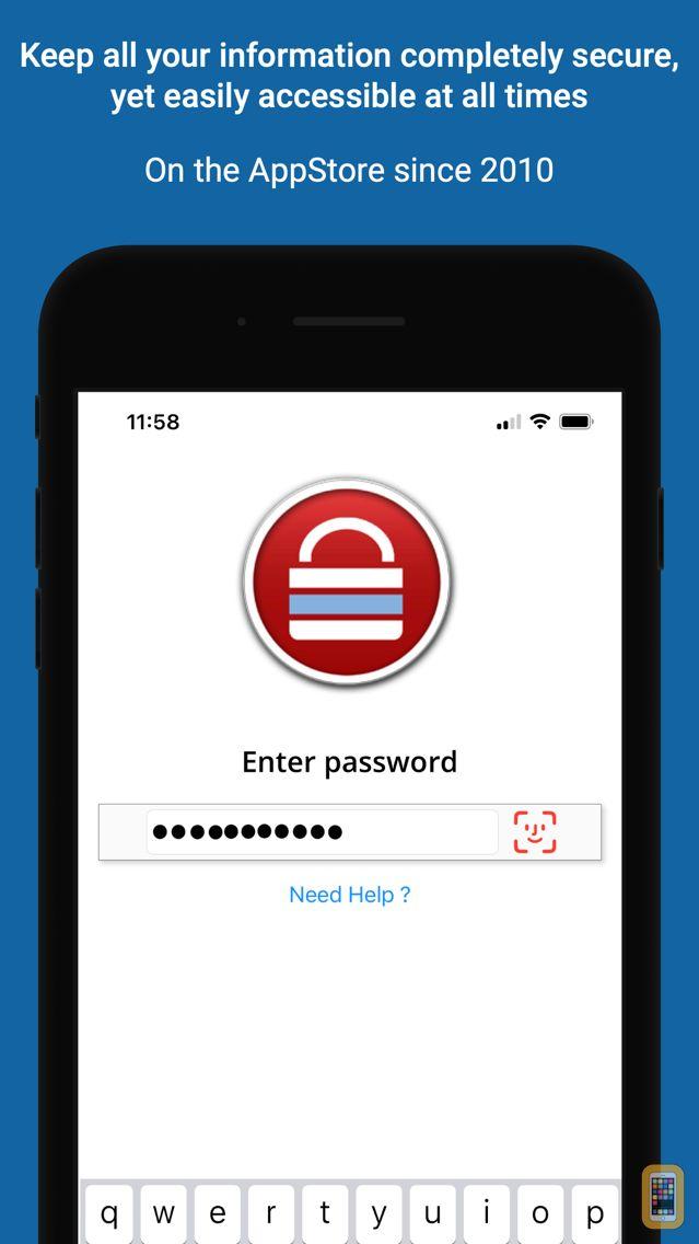 Screenshot - Password Safe - iPassSafe+