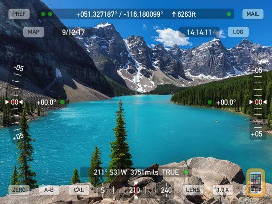 Screenshot - Theodolite HD