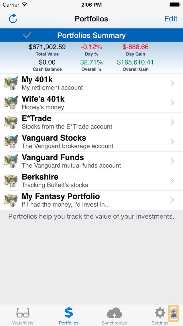 Screenshot - StockMarketEye