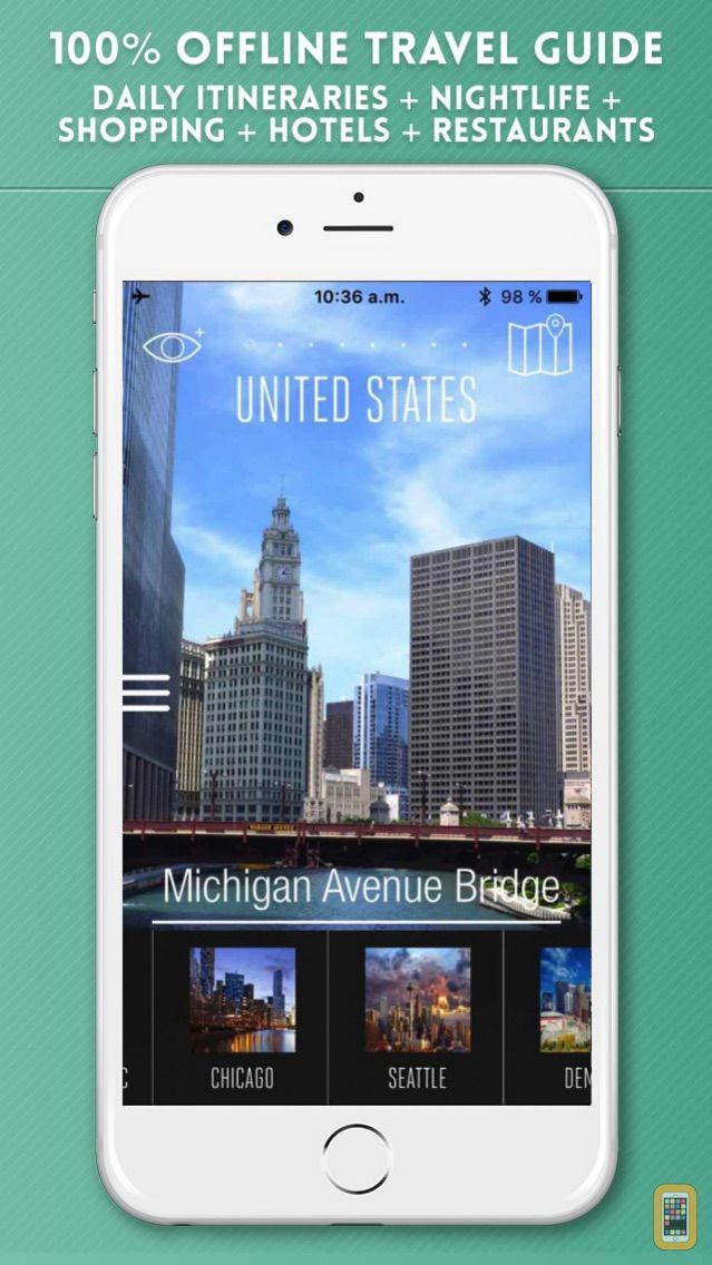 Screenshot - USA Travel Guide and Offline City Street Map