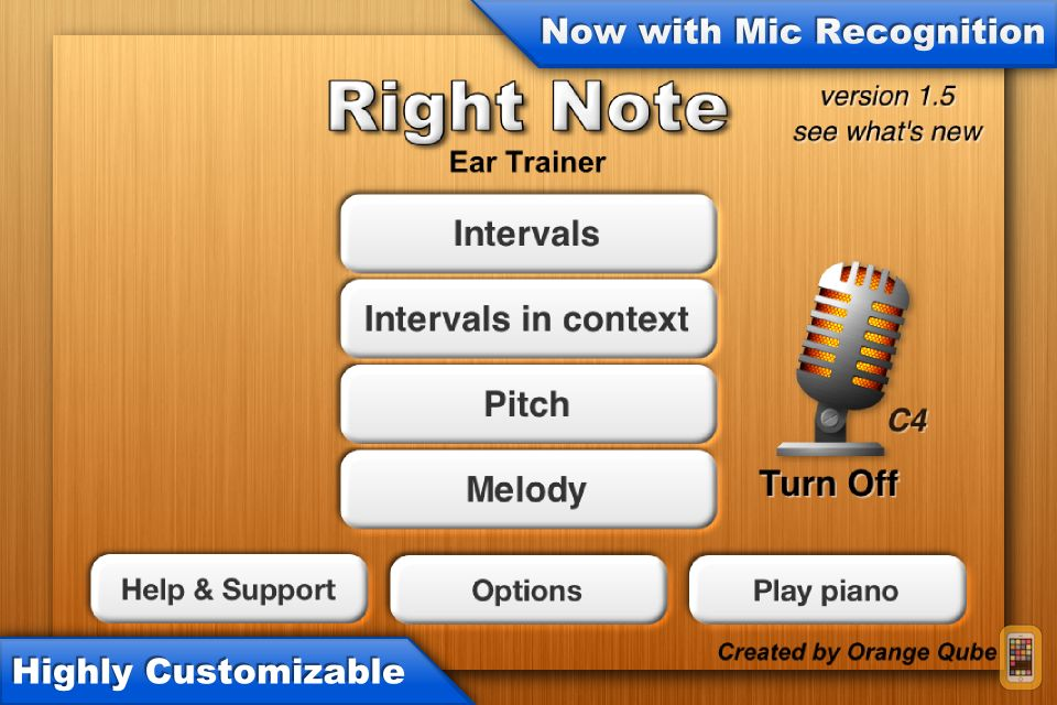 Screenshot - Right Note - Ear Trainer