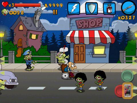 Screenshot - Granny vs Zombies HD