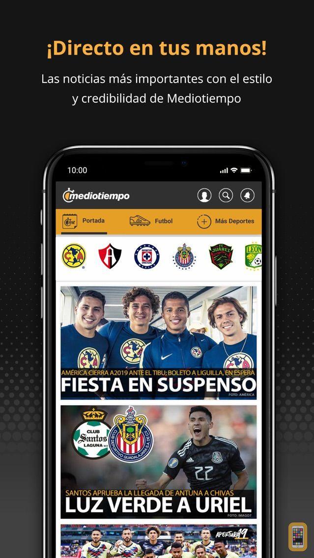 Screenshot - Mediotiempo