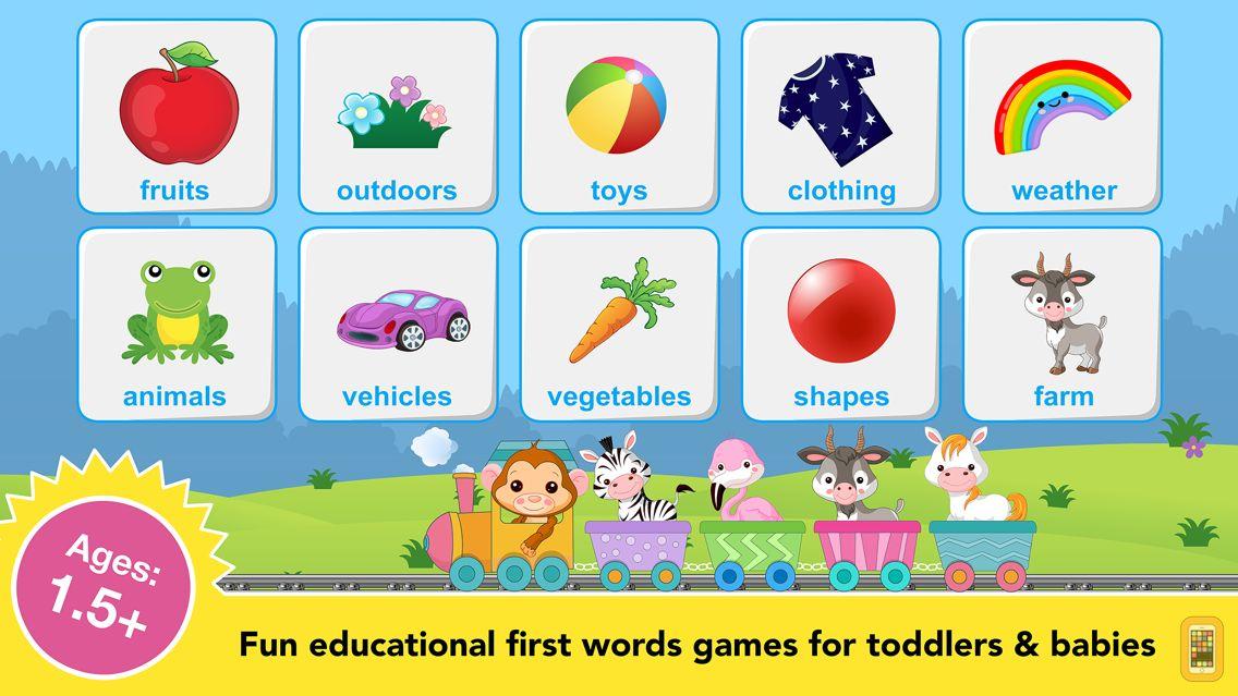 Screenshot - Toddler games for preschool 2+
