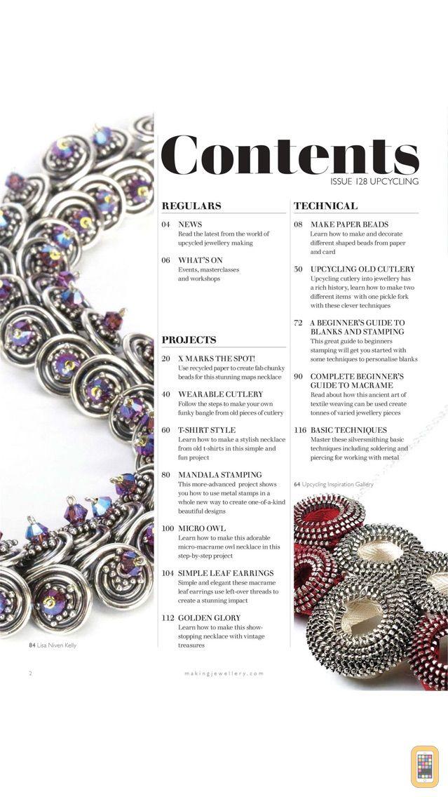Screenshot - Making Jewellery Magazine