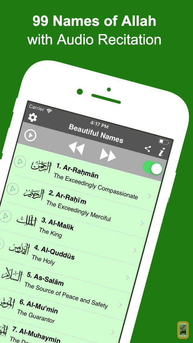 Screenshot - 99 Names of Allah (Pro)