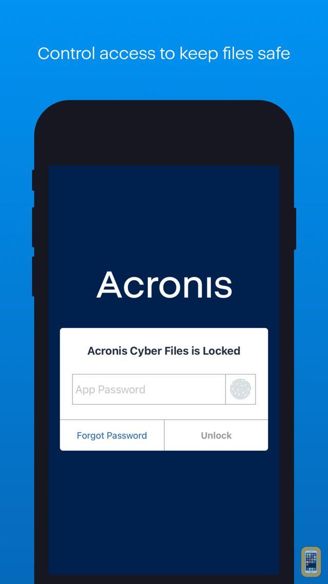 Screenshot - Acronis Files Advanced