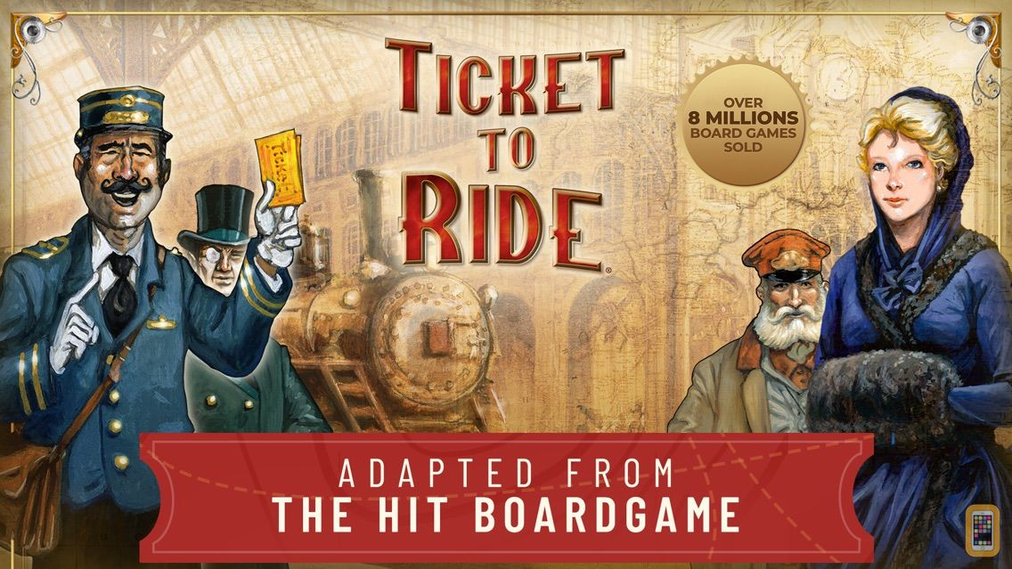 Screenshot - Ticket to Ride - Train Game