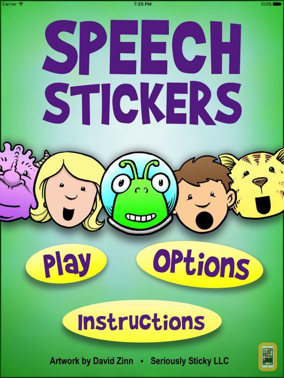 Screenshot - SpeechStickers