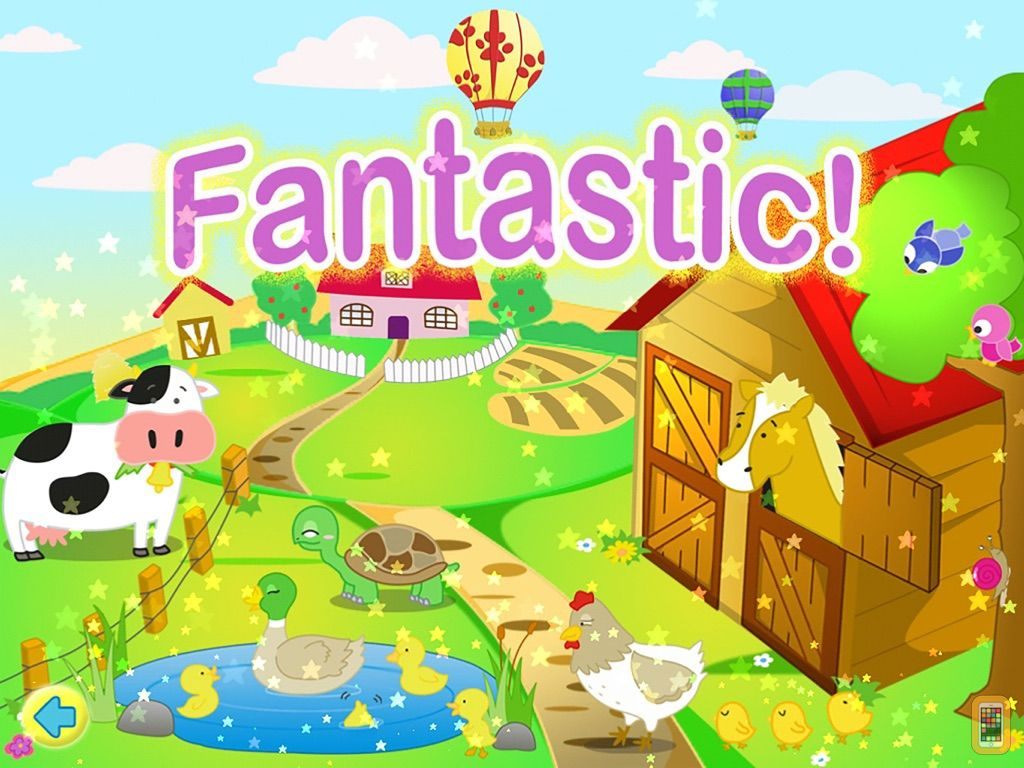 Screenshot - Farm Jigsaw Puzzles 123 for iPad - Fun Learning Puzzle Game for Kids