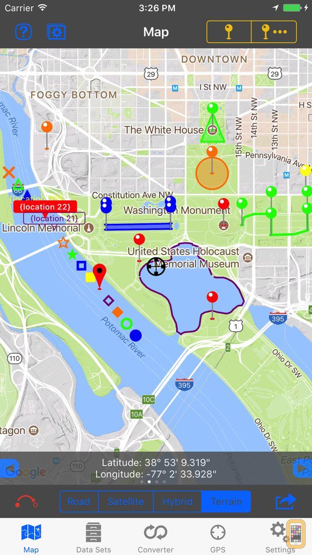 Screenshot - GPS & Map Toolbox