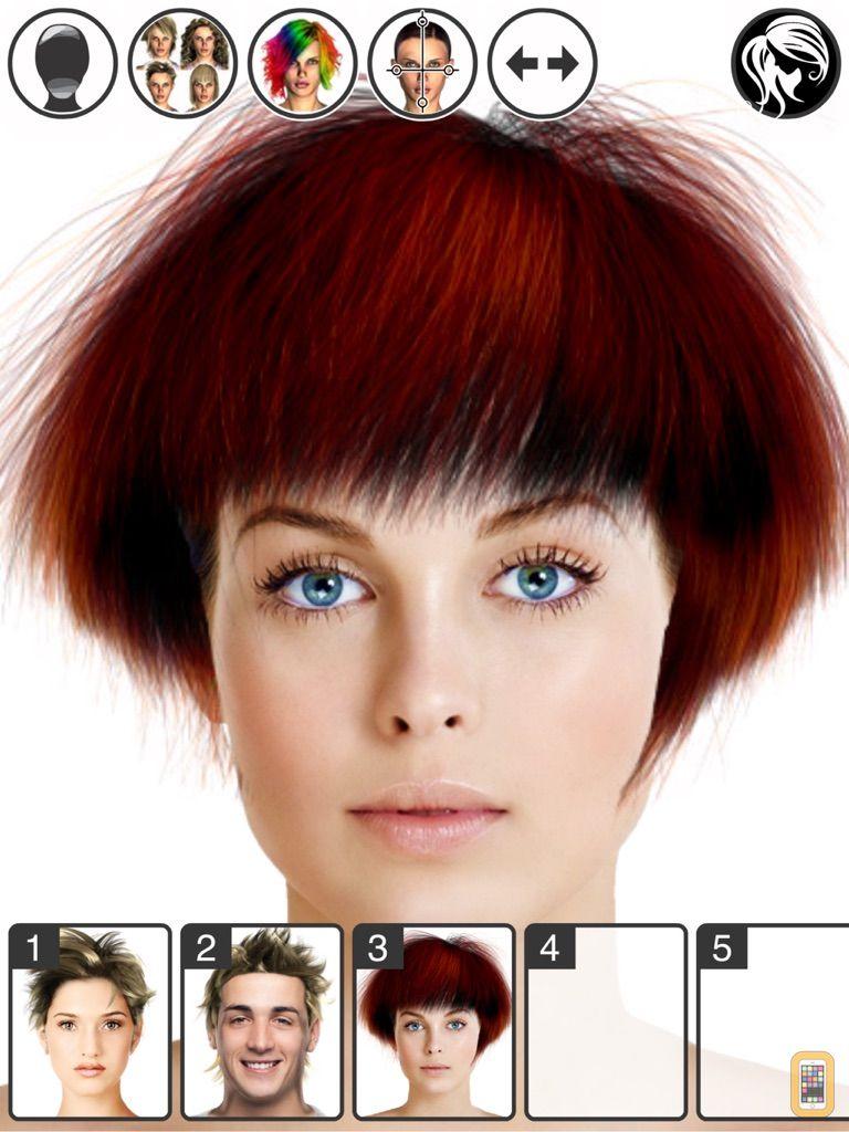 Screenshot - Hairstyle Magic Mirror HD